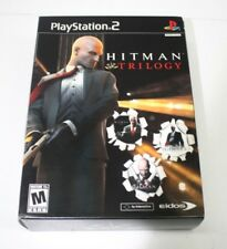 Hitman Trilogy (Sony PlayStation 2, 2007) Complete Very Good Fast Shipping