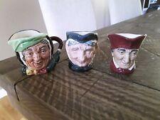 New ListingRoyal Doulton Lot Of 3 Toby Jugs Cardinal Sairy Gamp & Granny!