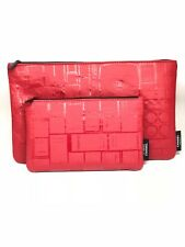 Ensemble 2 Trousse Chanel Rouge Maquillage Rare