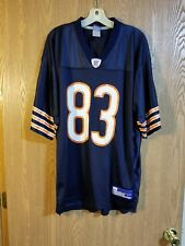 Reebok On Field Chicago Bears David Terrell   83 Jersey Adult L Large EUC fd5a1e724