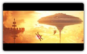 F2571 Free Mat Bag Star Wars Battlefront Bespin X-Wing Gaming Mat Deck Playmat