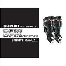 06-10 Suzuki DF150 DF175 4-Stroke Outboard Motor Service Repair Manual CD
