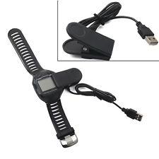 USB Charging Clip Charger Cable for Garmin Forerunner 405CX 405 910XT 310XT New