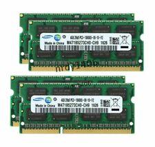 New For SamSung SODIMM DDR3 1333MHZ 16GB 4x4GB Laptop Memory RAM Non-ECC 204Pin●