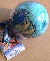 New Disney Frozen Christmas Tree Decoration (Bauble) with Pair of Socks UK 12-2