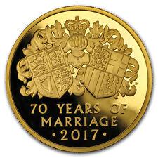 2017 Great Britain 5 oz Proof Gold Platinum Wedding Anniversary - SKU#156112