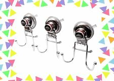 Super Strong suction cup Hooks wreath hanger  Shower Organizer 3 pack