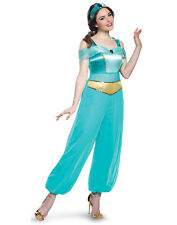 Disney Princess Aladdin Jasmine Adult Womens Deluxe Costume-Xl