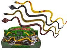 Juguete De Goma grandes serpientes cobra falso Scary Halloween realistas de utilería Broma Broma 40c