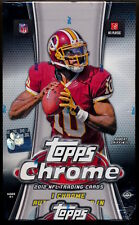 2012 Topps Chrome Football Factory Sealed HOBBY Box **Luck/Russell Wilson RC?**