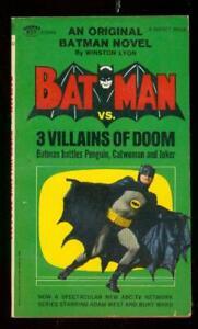 Batman Vs. 3 Villains Of Doom #  1966 - DC  -VF - Comic Book