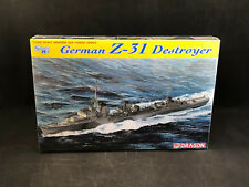 Dragon German Z-31 Destroyer 1:700 Scale Plastic Model Kit 7126 New in Box