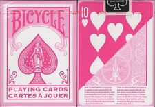 Fashion Pink Bicycle Playing Cards Poker Size Deck USPCC Custom Limited Edition