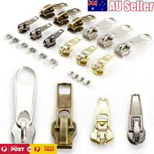22 Metal Fix A Zipper Zip Slider Rescue Instant Repair Replacement Kit Tent Bag