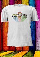 The Powerpuff Girls Buttercup Bubbles Blossom Men Women Unisex T-shirt 2877