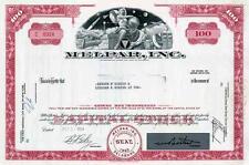 1964 Melpar Inc Stock Certificate