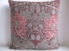 Liberty William Morris Honeysuckle & Designer Velvet Fabric Arts Cushion Cover R