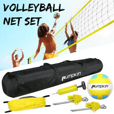 New listing 32FT Badminton Tennis Volleyball Net Set with Stand Frame Carry Bag Beach Sports