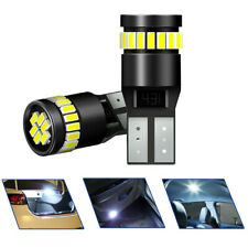 2X T10 501 194 W5W SMD 24 LED Auto Car CANBUS Error Free Wedge Light Bulb White/