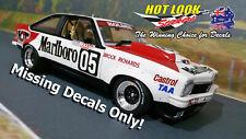 Marlboro Decals Only 1:18 Peter Brock 1979 Bathurst Winner Holden A9X SS Torana