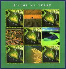 2002 FRANCE BLOC N°43** SAINT VALENTIN COEUR ARTHUS BERTRAND / SHEET MNH
