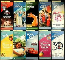 Walt Disney World Theme Park Guide Maps - Retired, Collectibles 62+ chose 1+++
