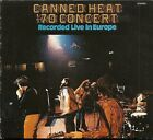 CANNED HEAT '70 CONCERT CD INCLUDES FOLDOUT POSTER NEW