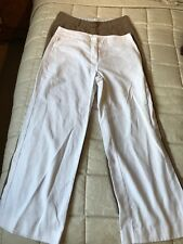 Rohan Ladies Linen  Trousers Size 12 X 2