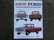 "1965 FORD F100 SALES BROCHURE ''RARE RHD AUST VERSION""  100% GUARANTEE"