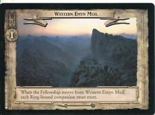 Lord Of The Rings CCG Card TTT 4.U329 Western Emyn Muil