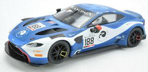 Scalextric Aston Martin Vantage GT3 DPR W/ Lights & C8515 1/32 Slot Car C4100