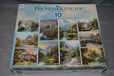 NEW - FACTORY SEALED - Ceaco - Thomas Kinkade - Collector's Edition 10 Puzzles