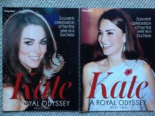 Daily Mail Souvenir Celebration of Kate Middleton A Royal Odyssey  part 1&2