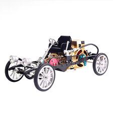 All-metal Single-cylinder Engine Simlation Mini Car Model Toy Gift Set for Adult