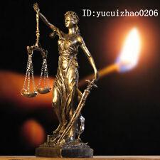 GREEK GODDESS STATUE FIGURINE BLIND LADY JUSTICE SCULPTURE LAWYER GIFT