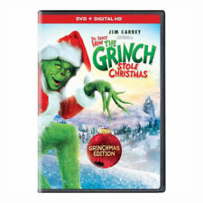 How the Grinch Stole Christmas (DVD, 2017) NEW FREE SHIPPING!!