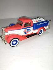 1936 Dodge Die cast Car Quest Tanker Truck 1:24 Coin Bank Liberty Classic W/Key