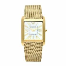 Designer Emporio Armani AR2016 Classic gold Dial Stainless Steel mens's watch