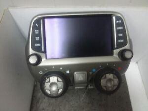 Radio And Temperature Control Panel AM FM MP3 USB Fits 13-15 CAMARO 23178061