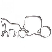 Ausstecher / Ausstechform Pferdekutsche