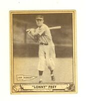 1940 Play Ball #76 Linus Lonny Frey Cincinnati Reds VG/EX no creases