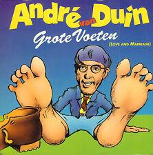 """ANDRE VAN DUIN - Grote Voeten (Love and Marriage) (1992 VINYL SINGLE 7"""")"""