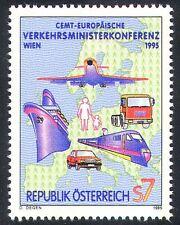Austria 1995 Plane/Train/Ship/Car/Rail/Railways/Aviation/Transport 1v (n24503)