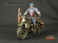 Toy Model 1:6 Scale Captain US Army Military Motorcycle (Movie version) #1508