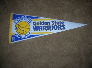 Golden State Warriors 1990 full size pennant