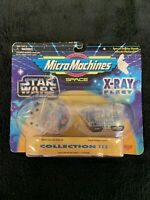Galoob Star Wars Micro Machines X-Ray Fleet Millennium Falcon Sandcrawler 90s