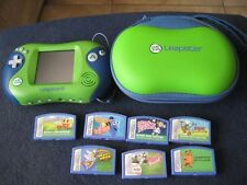 LeapFrog ~ Leapster2 ~ with SEVEN Games and Leapster CASE