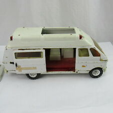 Tonka Rescue Ambulance Vintage 70's White PRESSED STEEL Parts Repair Restoration