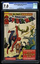 Amazing Spider-Man Annual #1 CGC FN/VF 7.0 Off White to White 1st Sinister Six!