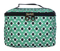 Jenzys Geometric Cute Small Designer Travel Cosmetic Makeup Bag Case Make Up